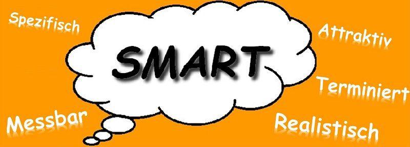 Ziele sollen SMART sein, dann entfalten sie ihre volle Wirkung